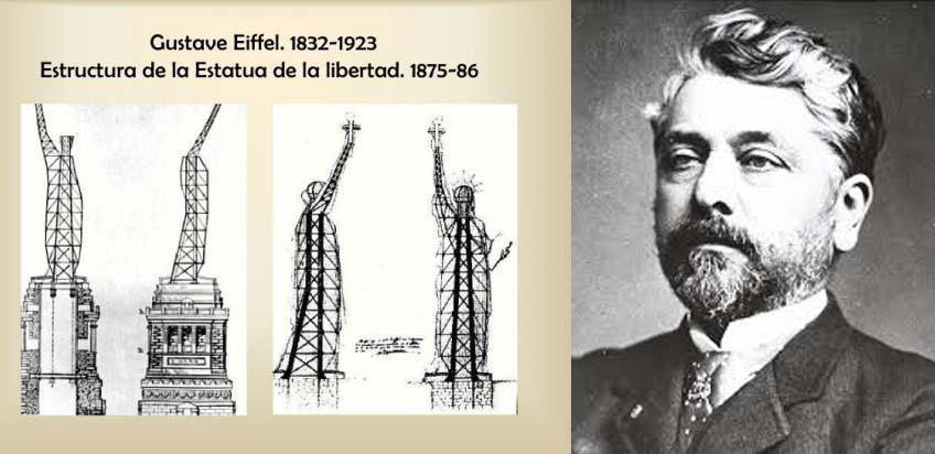 estatua de la libertad estructura interna