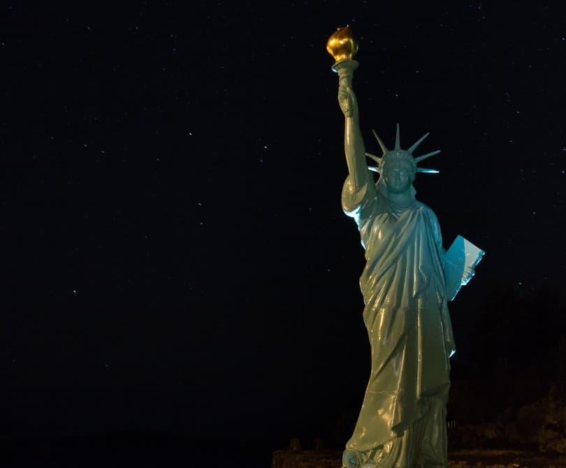 estatua de la libertad noruega