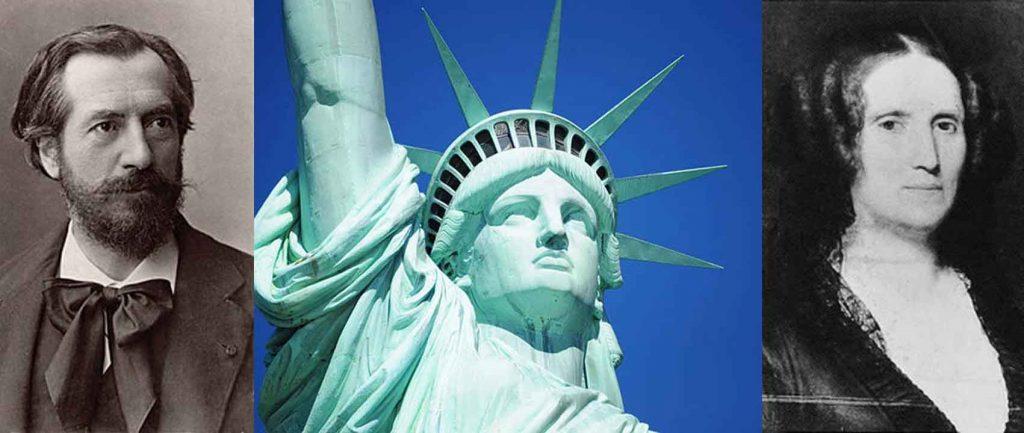 estatua libertad cara rostro