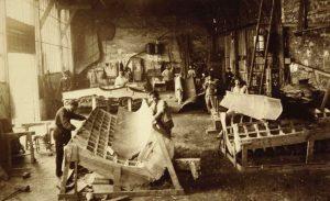 Fabricación de de los moldes.