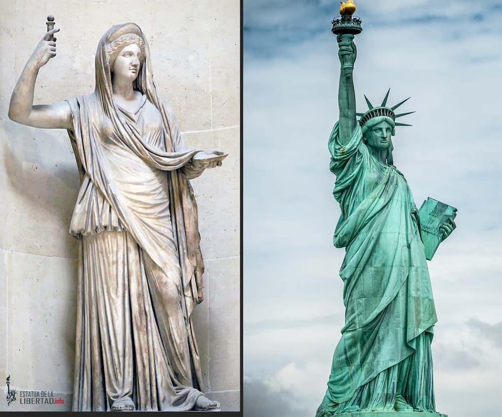 libertas estatua de la libertad