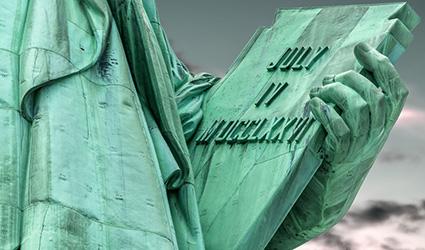 tabla estatua de la libertad