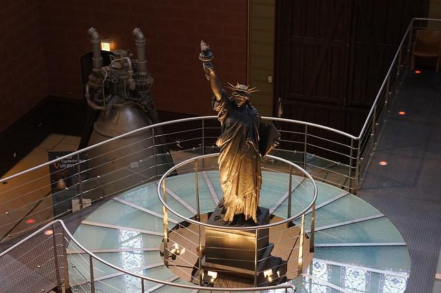 Estatua de la Libertad de yeso museo de las artes y oficios de paris