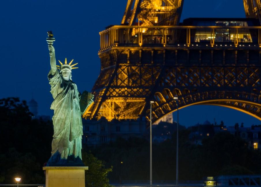 estatua de la libertad Francia