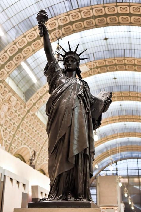 estatua de la libertad orsay