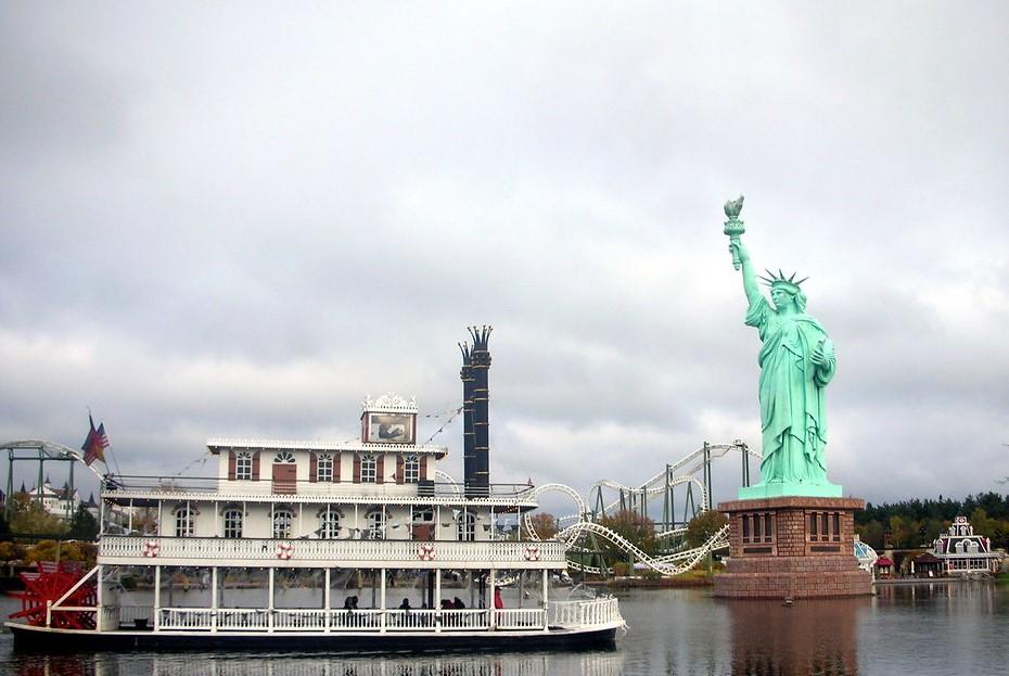 estatua de la libertad sajonia