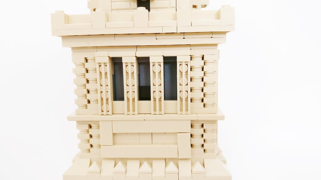 lateral torre estatua de la libertad lego