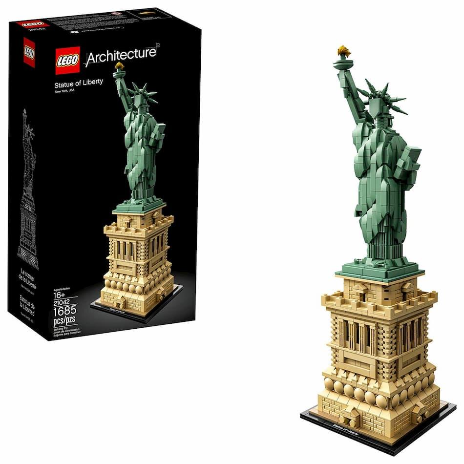 lego archichecture estatua de la libertad