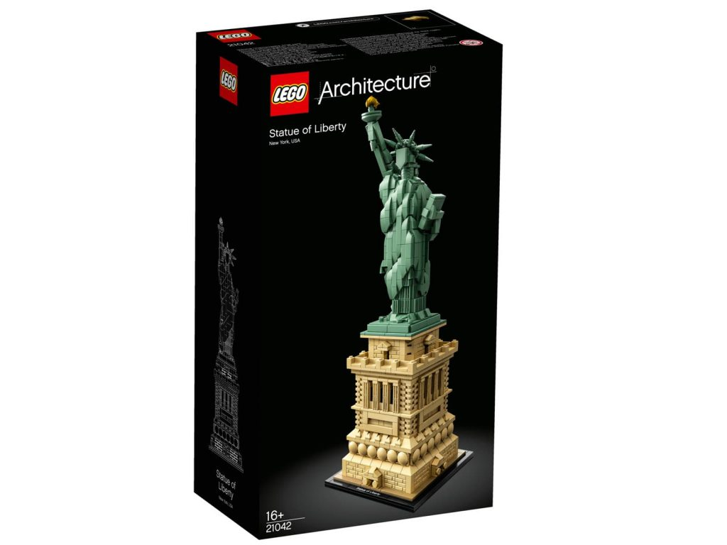 lego architecture estatua libertad nueva york