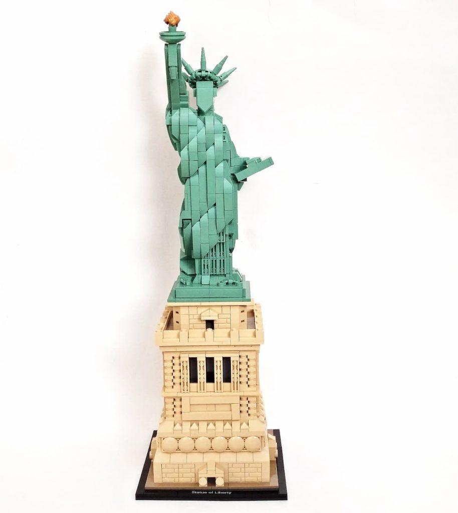 lego piezas estatua de la libertad