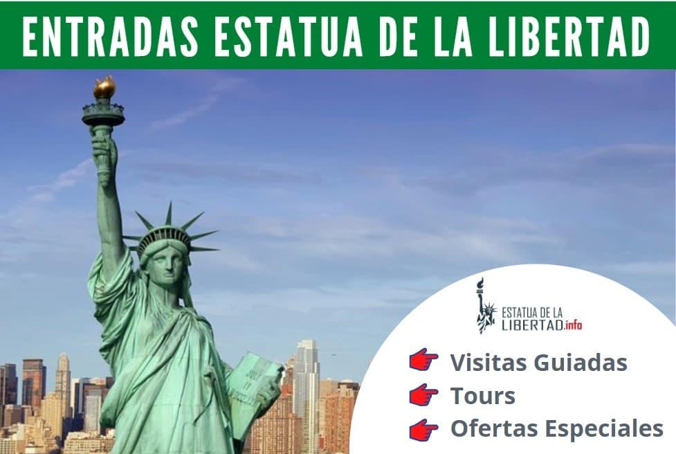 entradas estatuas libertad